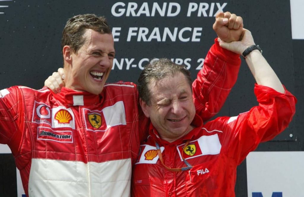 Todt: Schumacherrel szorosabb a viszonyunk, mint valaha