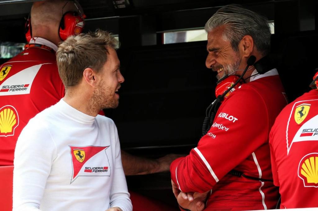 Arrivabene: A Ferrarinak csúcsra kell járatnia Vettelt