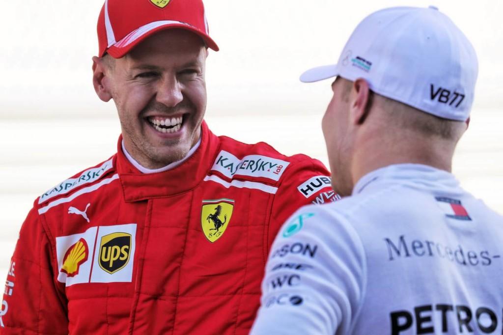 Vettel őszintén örült a gödörből kimászó Bottas sikerének