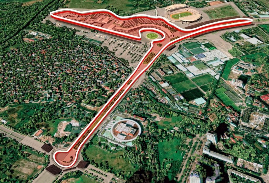 Megkezdődött a vietnámi F1-es pálya építése