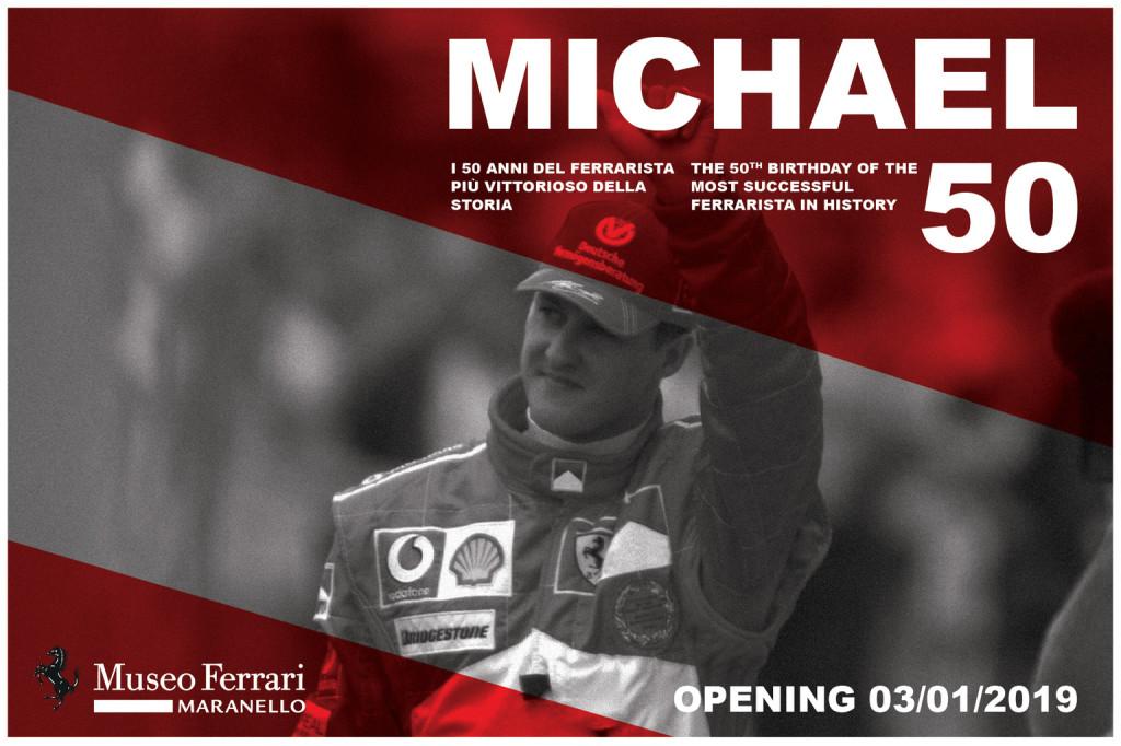 Kiállítással tiszteleg a Ferrari az 50 éves Schumacher előtt