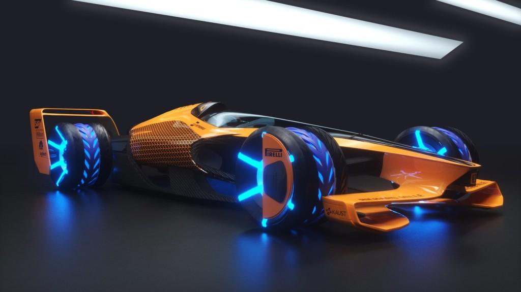 A McLaren megálmodta a jövőt: ilyen lehet az F1 2050-ben!