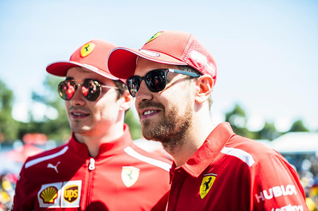 Vettel: Leclerc egész évben szorongatni fog