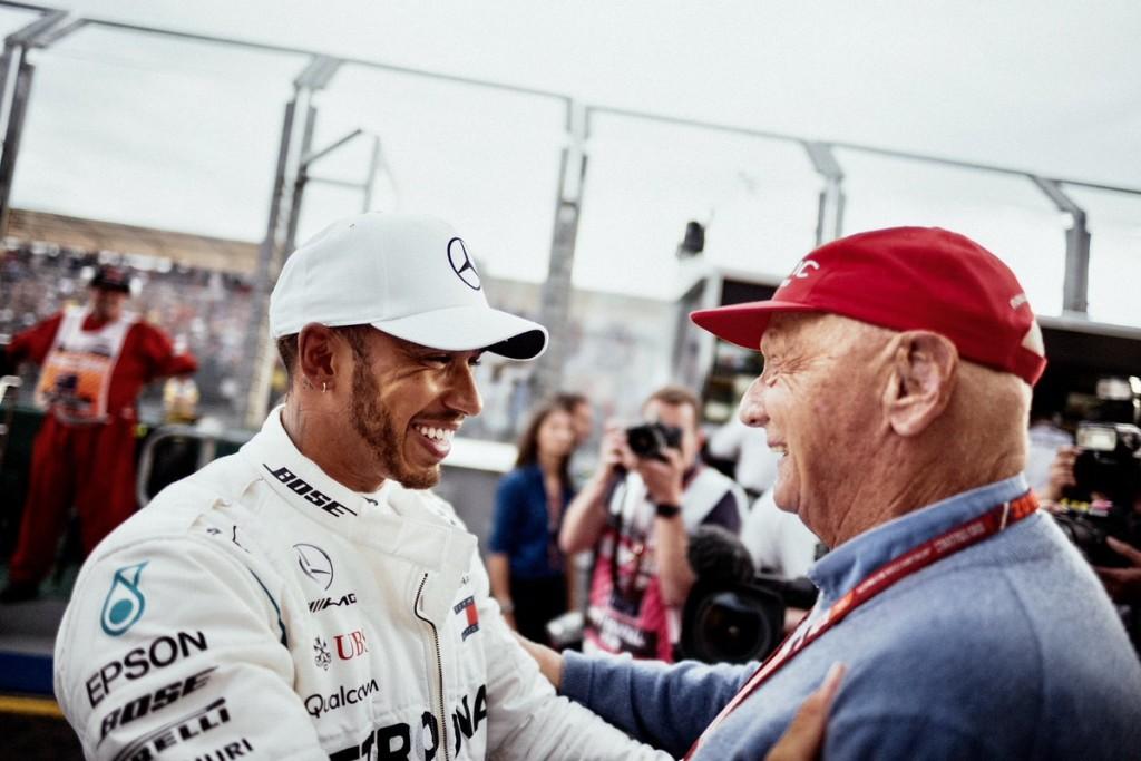 Hamilton megnyílt: Lauda megváltoztatta az életem!