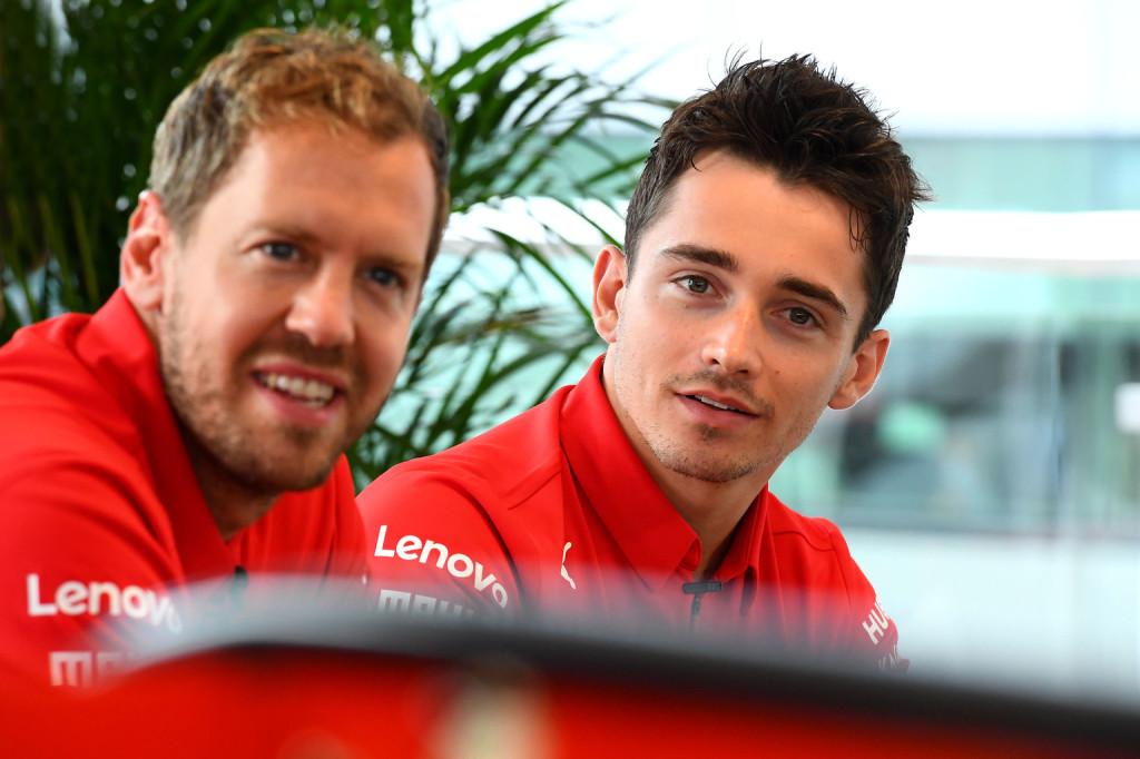 A Ferrarinál még mindig Vettelé az elsőbbség