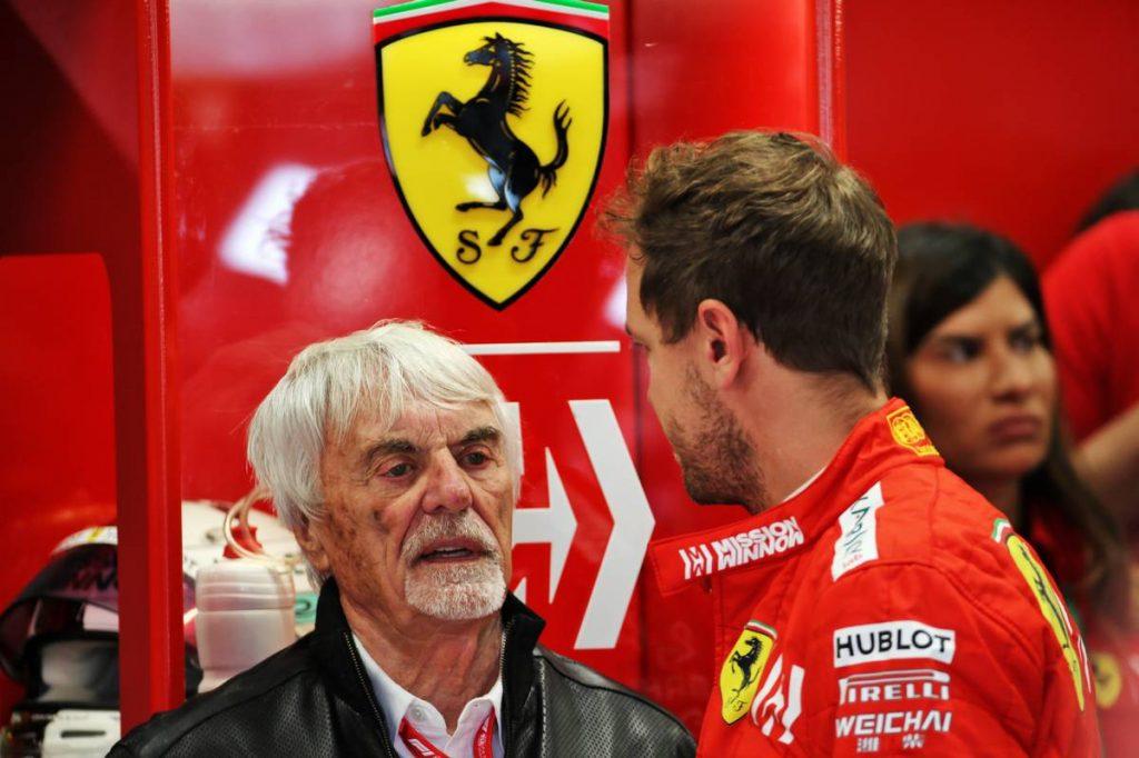 Ecclestone protezsálta be Vettelt az Aston Martinhoz