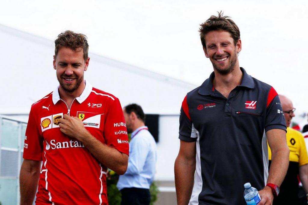 Grosjean: Vettel órákkal a döntés előtt megírta, hogy nem versenyez