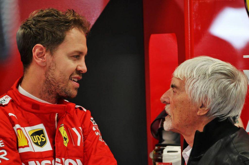 Ecclestone tanácsára vallott színt Vettel?