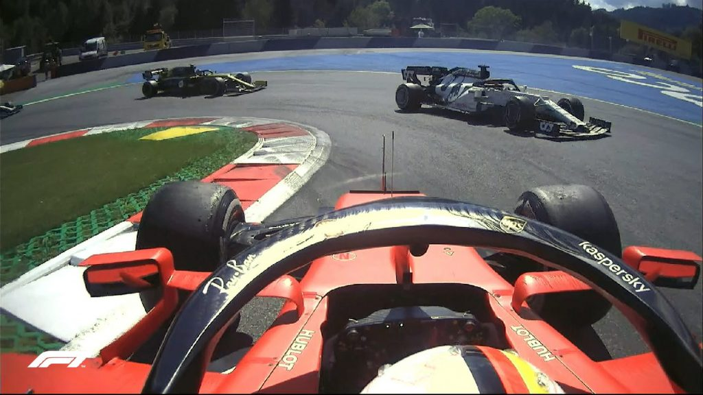 Vettel: Örülök, hogy csak egyszer pördültem meg!