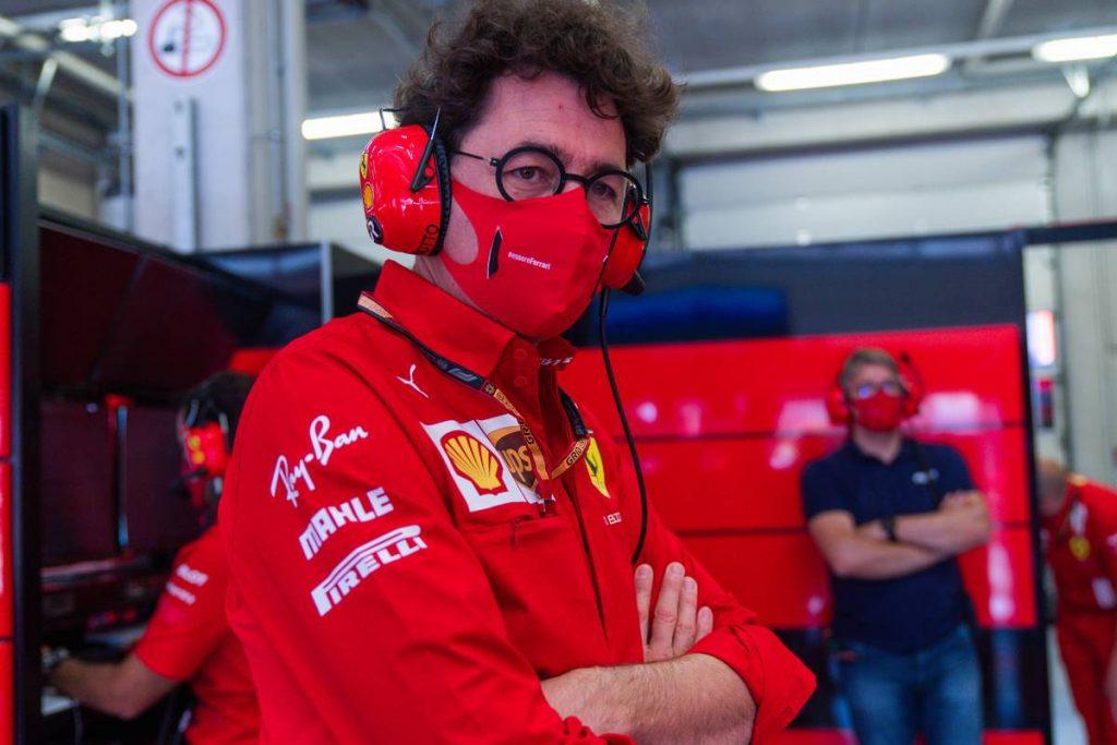 Binotto: Nem volt egy nagy megmozdulás, ezt Vettel is tudja