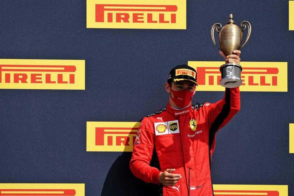 Leclerc kezében vált megoldássá az agresszívvá tett Ferrari