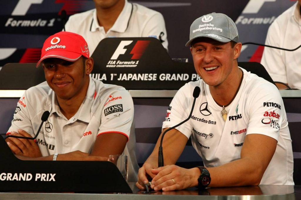 Schumacher és Hamilton két ellentétes F1 mániákus tökélyhajszolója