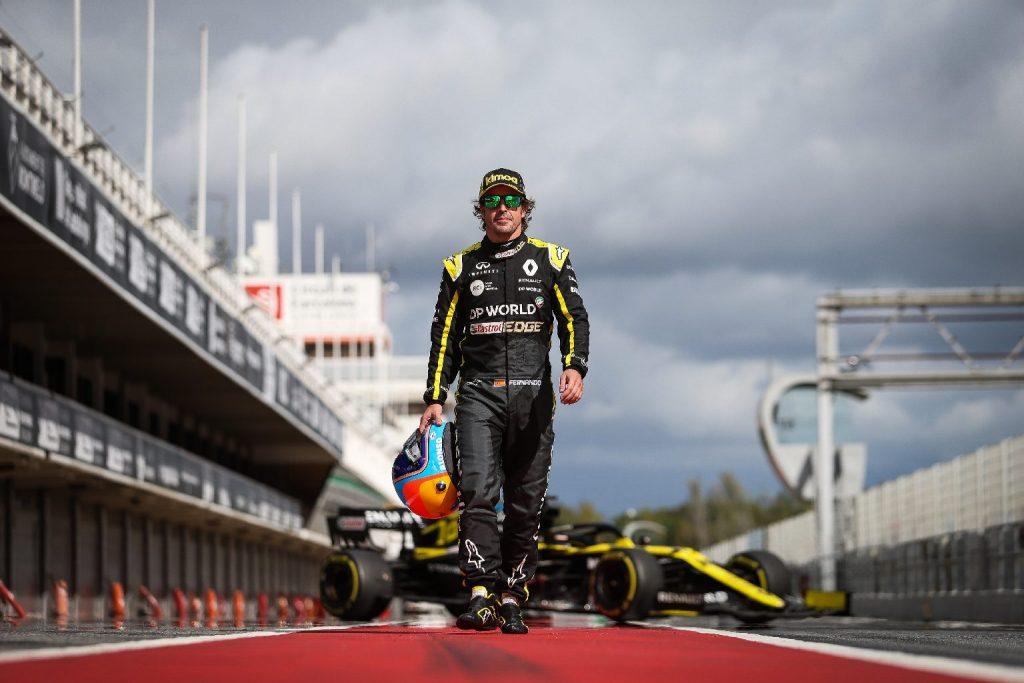 A jövő héten újra a Renault-val tesztel Alonso