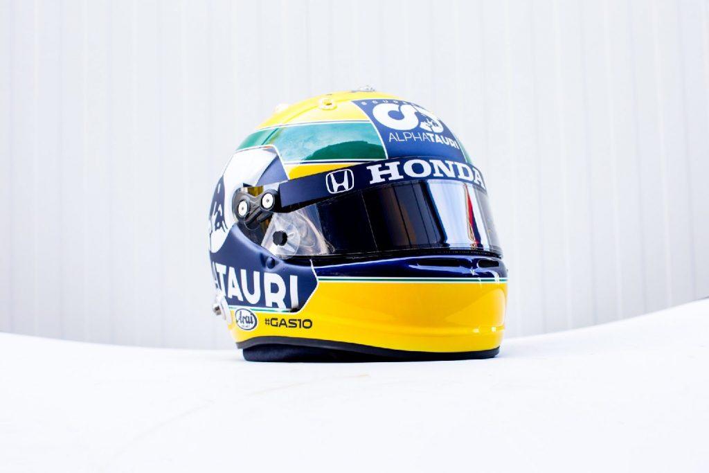 Senna-sisakban Gasly – Vettel és Hamilton is a brazilra emlékezett