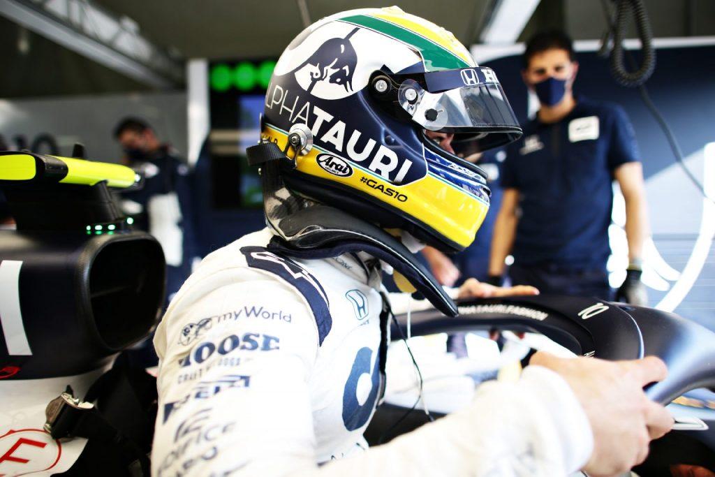 Senna-színekben Imolában: Gasly büszke eddigi legjobb időmérőjére