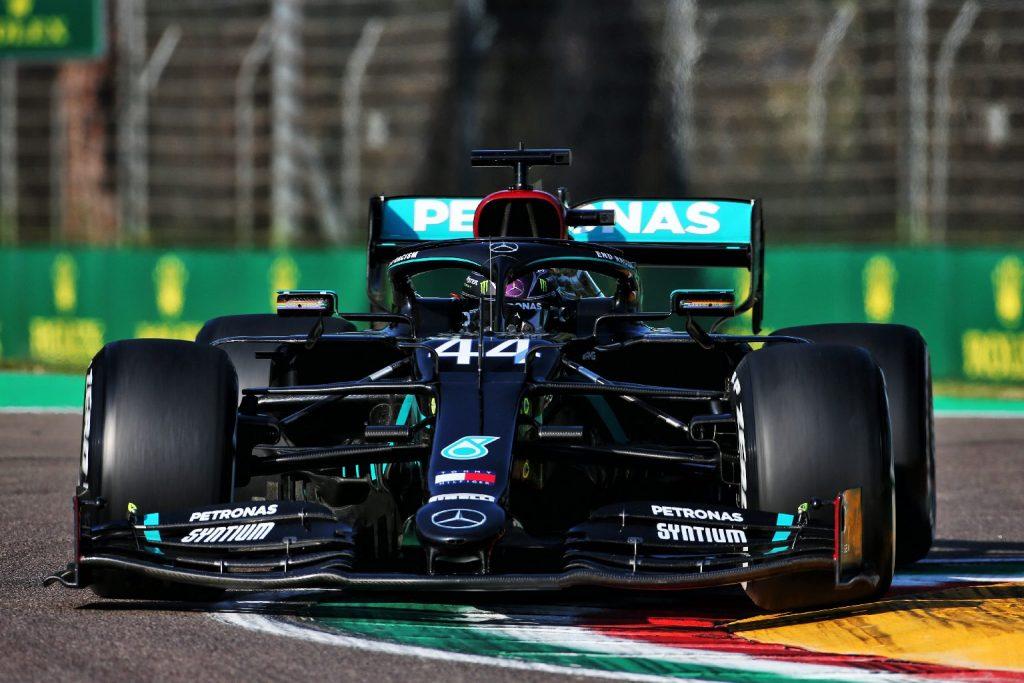 Hamilton volt a leggyorsabb az egyetlen imolai szabadedzésen