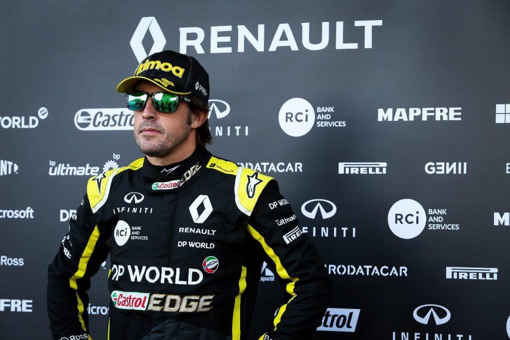 Megfúrták Alonso abu-dzabi tesztjét a Renault ellenfelei