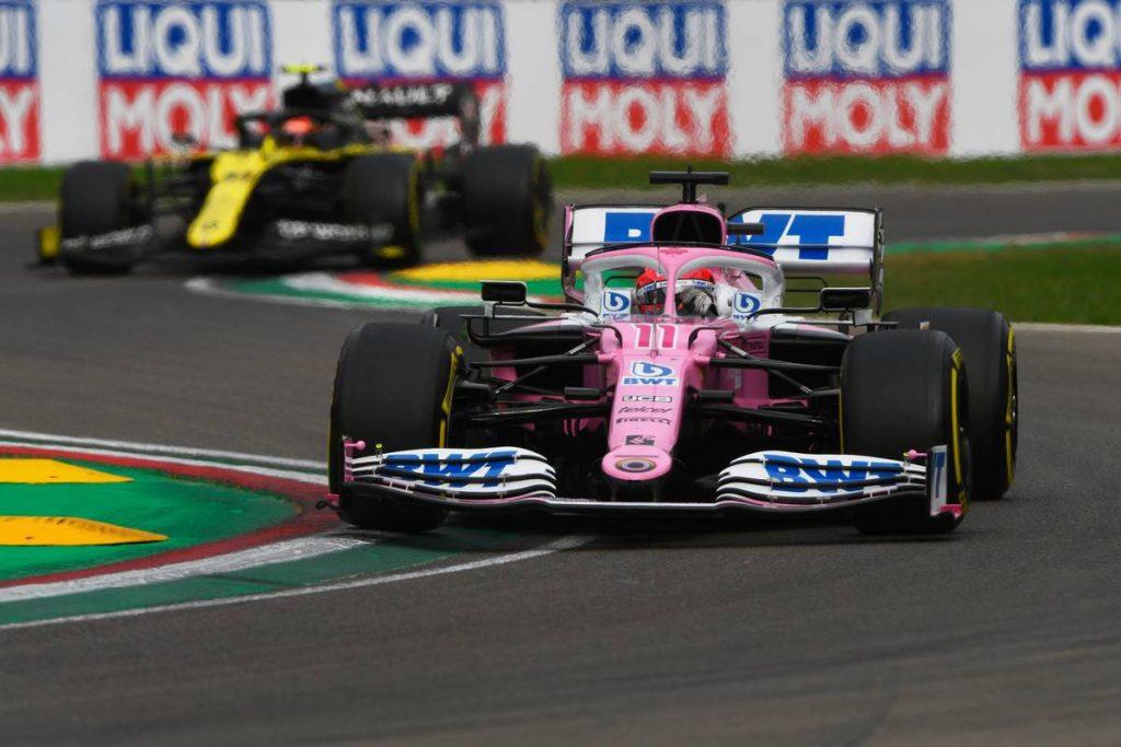 Elmagyarázta a Racing Point, miért adta oda a dobogóját Ricciardónak