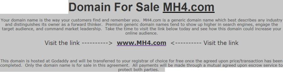 eladó az MH4