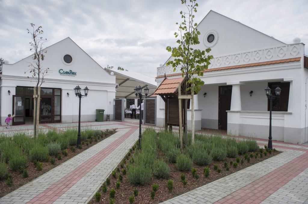 Befejeződött a CsabaPark egymilliárd forintos fejlesztése