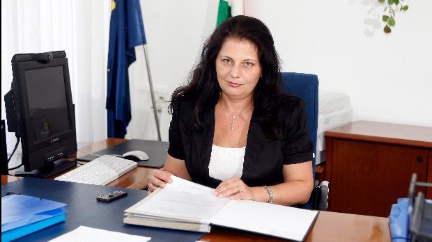 Budapest, 2010. július 5. Vida Ildikó, az Adó- és Pénzügyi Ellenőrzési Hivatal (APEH) elnöke. A felvétel 2010. július 5-én készült a hivatalban. MTI Fotó