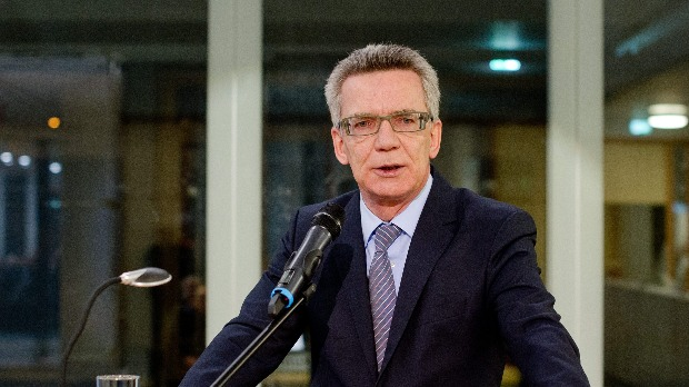 Thomas de Maiziere német belügyminiszter. (EPA/Daniel Bockwoldt)