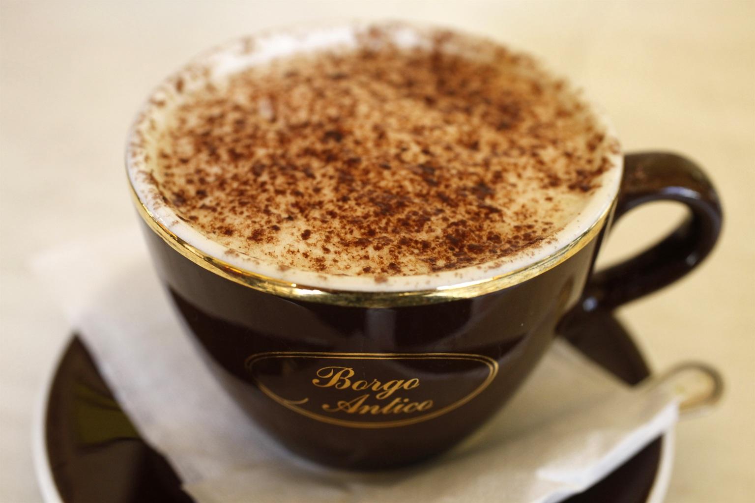 Egy csésze kávé (Fotó: AFP)