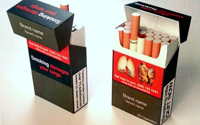 Egységes cigarettásdoboz