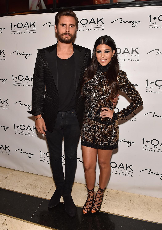 Kourtney Kardashian és Scott Disick. Fotó: Wire Image