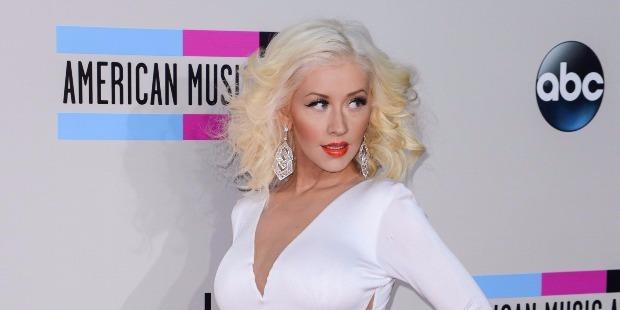 A közönség elolvadt, amikor Christina Aguilera kislányával jelent meg a színpadon