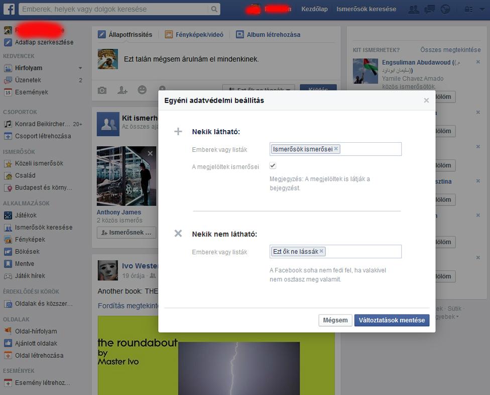 Facebook ismerős - Gyakori kérdések
