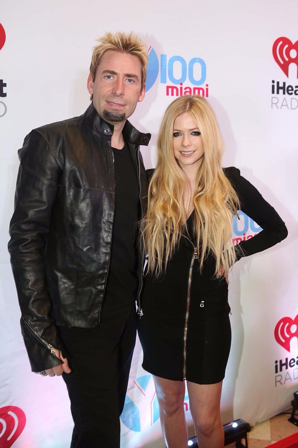 Avril Lavigne és Chad Kroeger. Fotó: Wire Image