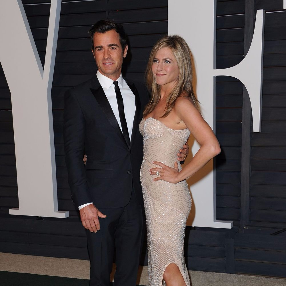 Jennifer Aniston és Justin Theroux. Fotó Sipa