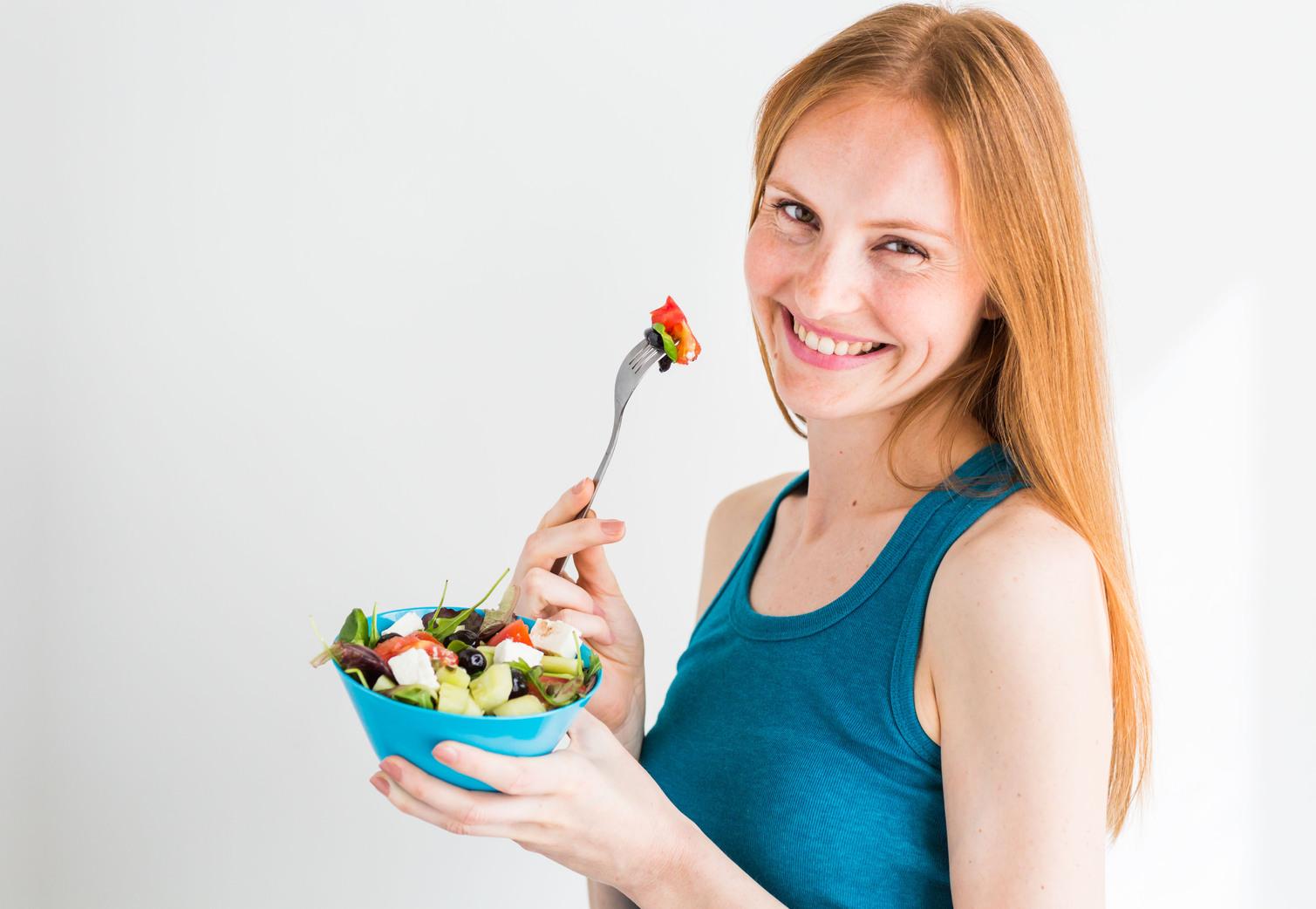 Egészséges táplálkozás - illsuztráció. Fotó: Rex Features
