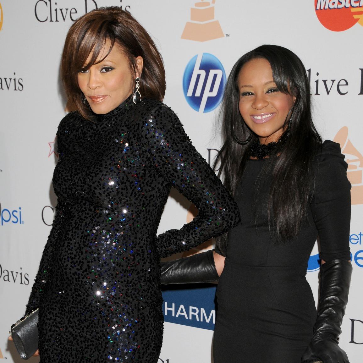 Whitney Houston, Bobbi Kristina Brown.  Fot�: FilmMagic