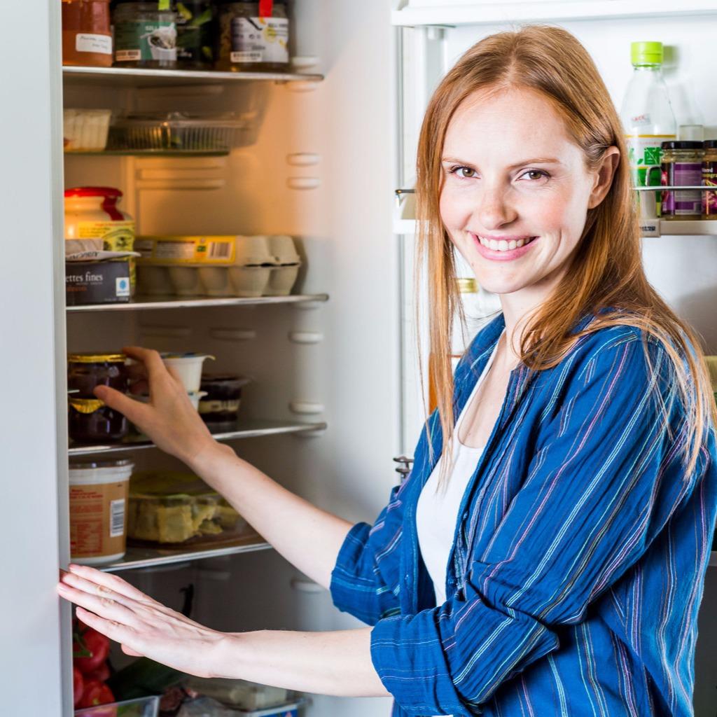 Éjszakai hűtőnyitogatás ellen is van ellenszer. Fotó: Puzzlepix