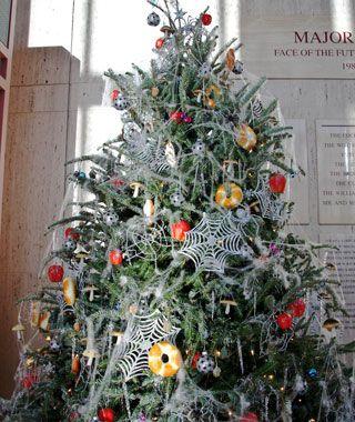 Pókhálós karácsonyfa. Fotó: Pinterest