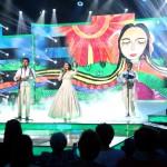 A Parno Graszt együttes lép fel az Eurovíziós Dalfesztivál magyar versenye, A Dal 2016 című televíziós showműsor döntőjében a Médiaszolgáltatás-támogató és Vagyonkezelő Alap (MTVA) óbudai gyártóbázisán 2016. február 27-én. MTI Fotó: Mohai Balázs