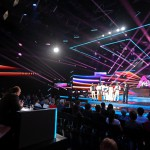 A Parno Graszt együttes az Eurovíziós Dalfesztivál magyar versenye, A Dal 2016 című televíziós showműsor döntőjében a Médiaszolgáltatás-támogató és Vagyonkezelő Alap (MTVA) óbudai gyártóbázisán 2016. február 27-én. Balról a zsűri tagjai, Frenreisz Károly, a Skorpió együttes vezetője, a Metro és az LGT egykori alapítója, Pierrot zenei producer és előadó, Zséda (Zsédenyi Adrienn) többszörös Fonogram-, eMeRTon- és Artisjus-díjas énekes és Both Miklós zeneszerző, énekes, előadó, a Napra és a Both Miklós Folkside alapítója, a zsűri tagjai (j-b).  MTI Fotó: Mohai Balázs
