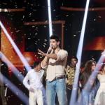 A győztes Freddie, azaz Fehérvári Gábor Alfréd énekli Pioneer című dalát az Eurovíziós Dalfesztivál magyar versenye, A Dal 2016 című televíziós showműsor döntőjének végén a Médiaszolgáltatás-támogató és Vagyonkezelő Alap (MTVA) óbudai gyártóbázisán 2016. február 27-én. MTI Fotó: Mohai Balázs