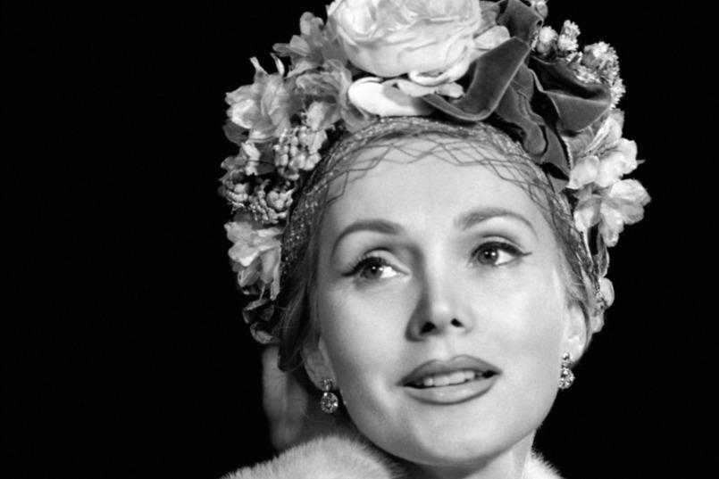 Gábor Zsazsa színésznő, 1940 körül. Fotó: MTI/EPA