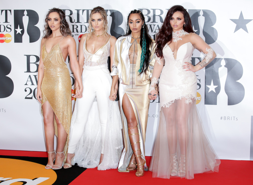 Jade Thirlwall, Perrie Edwards, Leigh-Anne Pinnock and Jesy Nelson a Little Mix együtts tagjai. Fotó: Camera Press