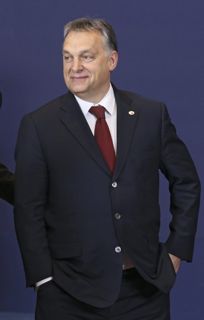 Orbán Viktor miniszterelnök az EU-török csúcson. EPA/OLIVIER HOSLET