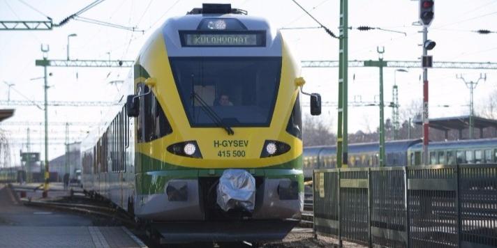 Fejleszti a Fertőszentmiklós és az osztrák határ közötti vasútvonalat a GYSEV