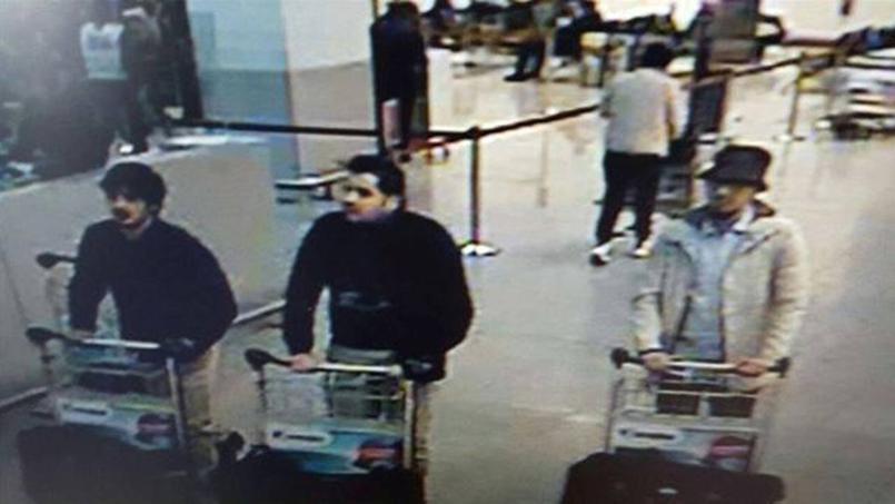 A brüsszeli repülőtéri robbantás feltételezett elkövetői