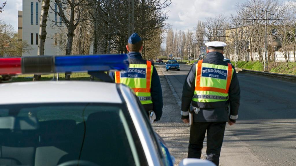 Figyelemmel az útra – Rendőri ellenőrzés két napon át