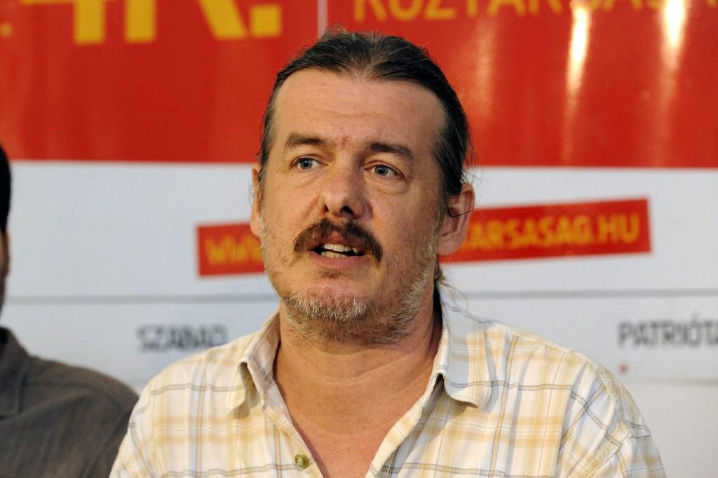 Szentistványi István szegedi önkormányzati képviselő. MTI Fotó: Kelemen Zoltán Gergely