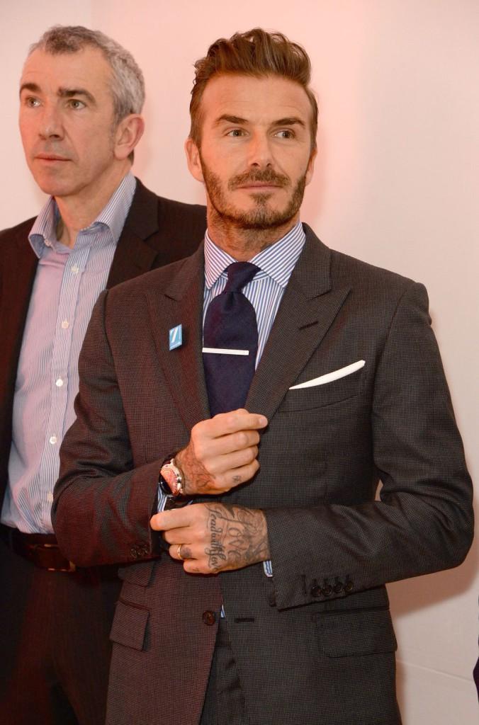 David Beckham. Fotó: Rex Features