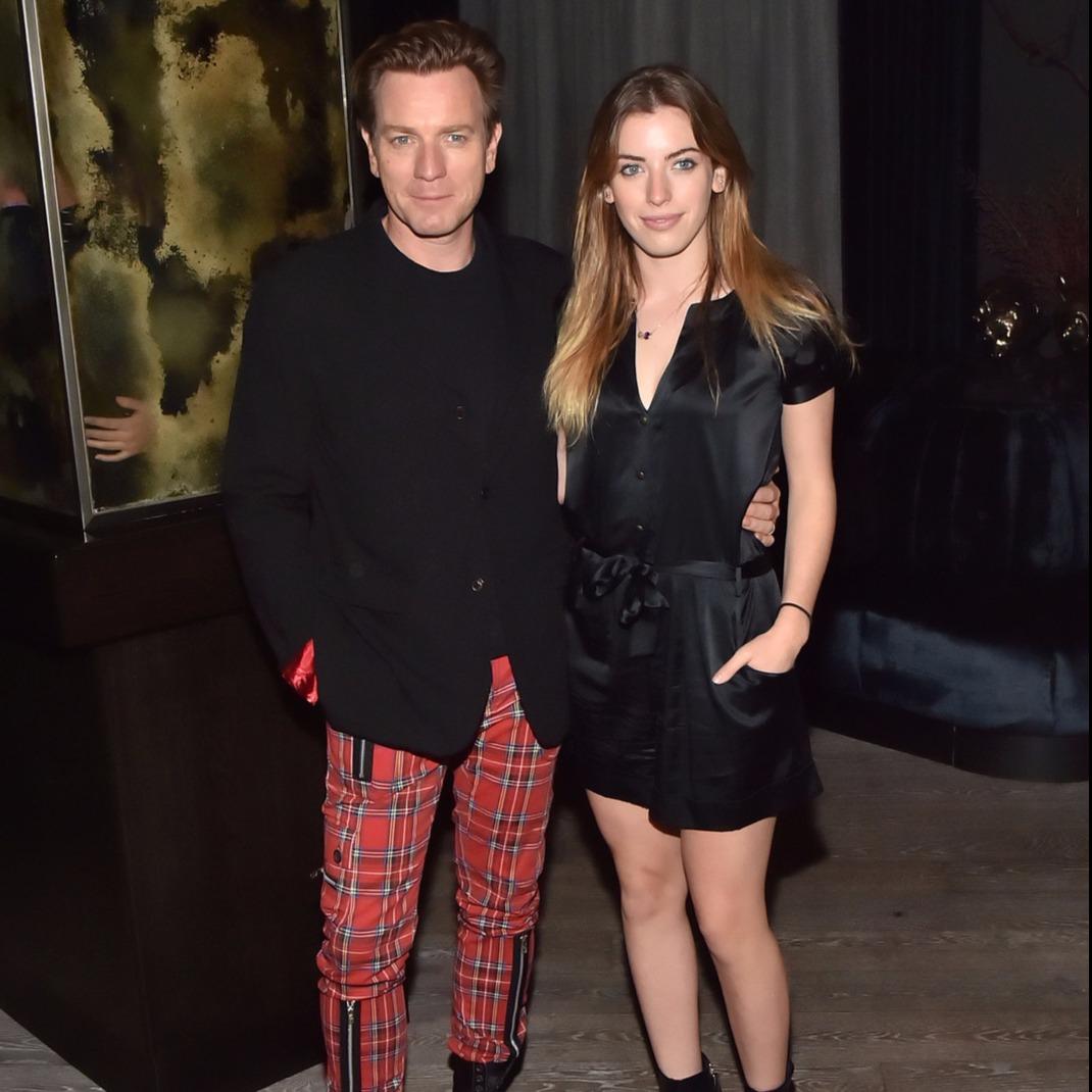 Clara és Ewan McGregor. Fotó: Rex Features