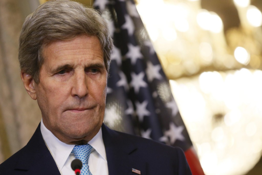 John Kerry amerikai külügyminiszter. EPA/JULIEN WARNAND